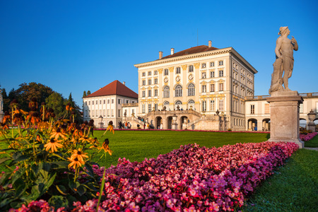 Nymphenburg castle in Munich, Germany Editorial