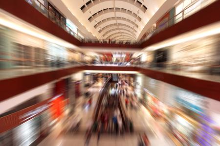 emirates: Dubai with shopping center in United Arab Emirates Stock Photo
