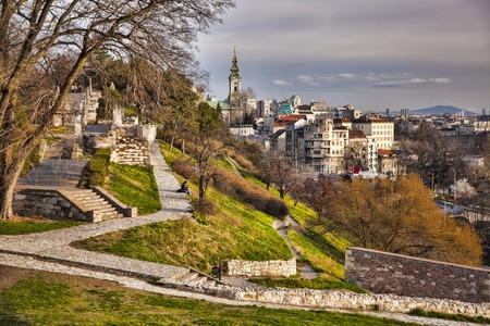 Belgrade capital city of Serbia Stock Photo