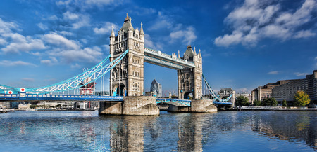 towers: Tower Bridge in London, England, UK Stock Photo