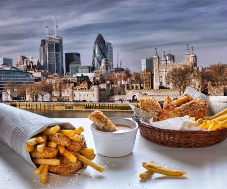 take a history: Fish and Chips against London, England