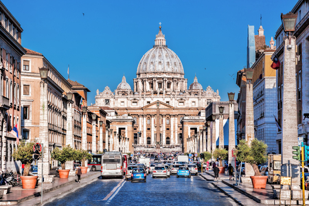 Basilica of Saint Peter in the Vatican, Rome, Italy