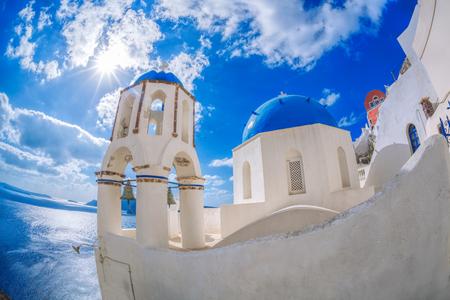 oia: Oia village on Santorini island, Greece