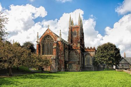 marys: St Marys Church in Totnes, England, UK Stock Photo