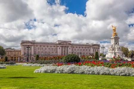 Pałac Buckingham w Londynie, w Anglii
