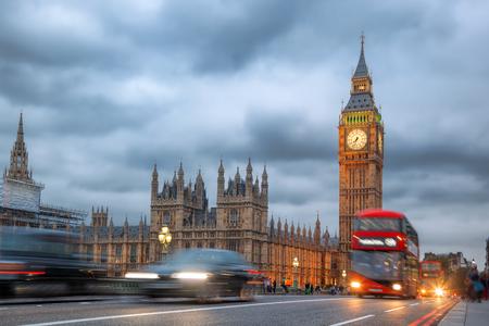 Big Ben in the evening, London, United Kingdom Standard-Bild