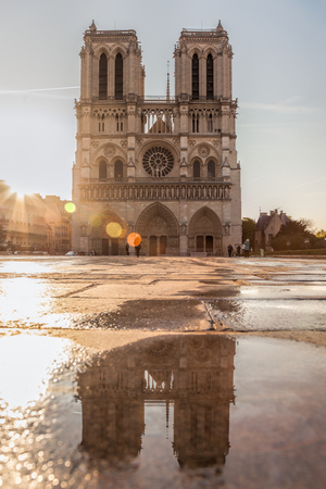Im Notre Dame, Je suis Notre Dame, Good Luck Notre Dame, Famous cathedral in Paris, France