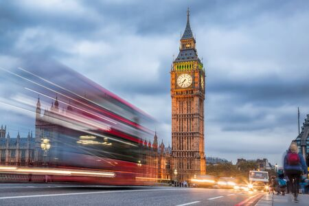 Big Ben in the evening, London, United Kingdom