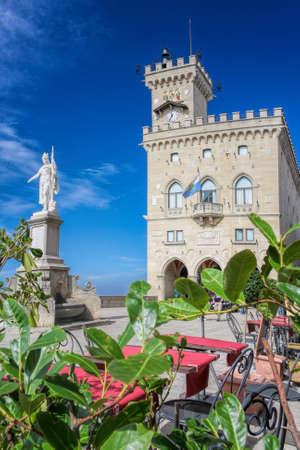 Rocca della Guaita, castle in San Marino republic, Italy Publikacyjne