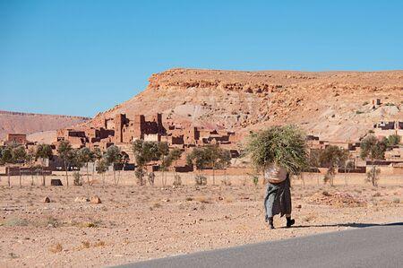 Khasbah in Morocco photo