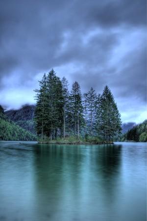 Lac Predil  Banque d'images - 7121817