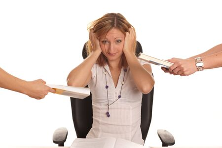 Too much to study Stock Photo - 8230917