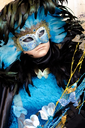 painted face mask: Venice mask Stock Photo