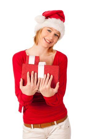 Santa girl Stock Photo - 11396088