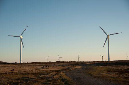 powerplants: Wind electricity powerplants on Madeira Portugal