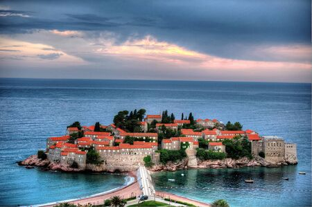 Sveti Stefan - Sant stefan in montenegro photo
