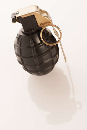handgrenade: Hand granade on a white background