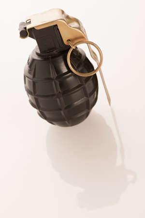 granade: Hand granade on a white background