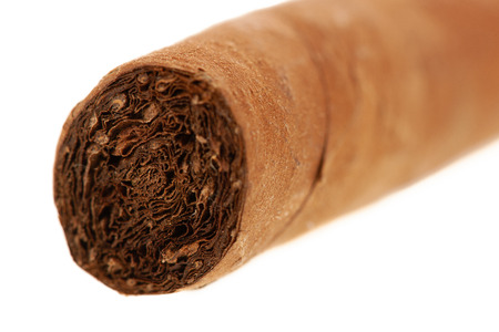 Cuban cigar isolated over white background