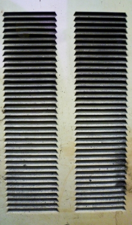vent: Dirty twin air vent
