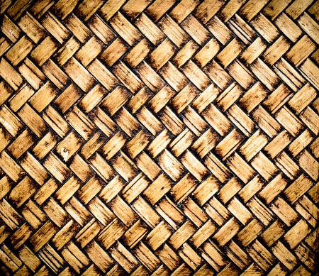 Backgrounds of Thai handicraft from bamboo