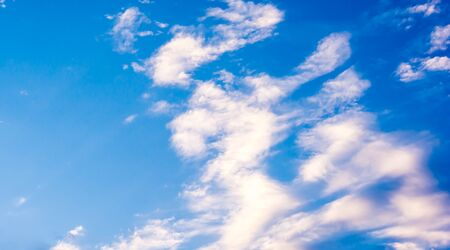 windy day: A backgrounds of blue sky on windy day Stock Photo