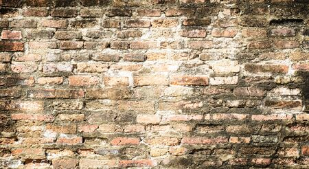 A texture and backgrounds vintage style of the old brick wall