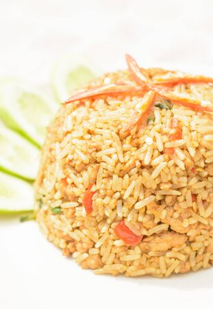 Clean food and good taste with spicy fried rice in Thailand