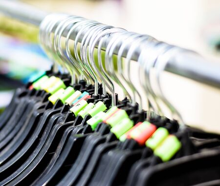 clothes hangers: Plastic clothes hangers with colorful of many size,Small,Large,Medium,Extra Large