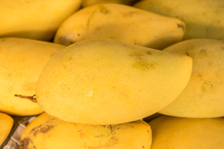 market stall: Mango for sale at market stall Stock Photo