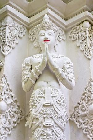 Thai traditional stucco