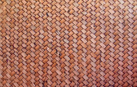 Thai style bamboo background photo