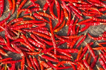 dehydrate: chilli dehydrate Stock Photo