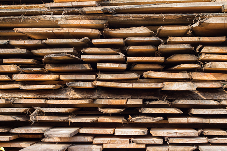 wood stack background