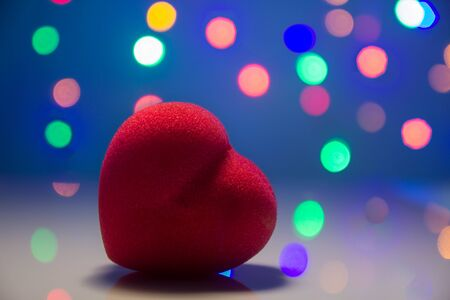 heart shape with bokeh background Standard-Bild