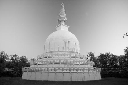 erected: Stupa has been erected in Zalasz�nt�, Hungary.