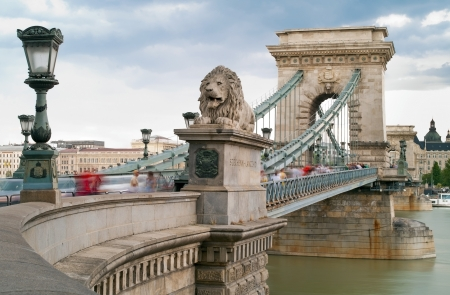 Chain Bridge is the quintessential symbol to Budapest, one of the most beautiful European city