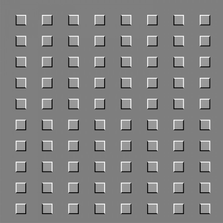 Dark and white squares are in movement Illustration