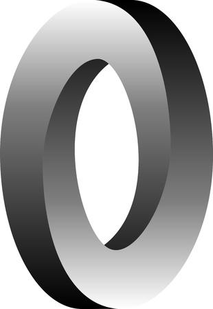 obscure: Retorcimiento de las Moebius - un objeto continuo que tiene s�lo dos laterales y dos bordes