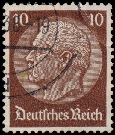 ドイツ - 1934 年頃: パウル ・ ...