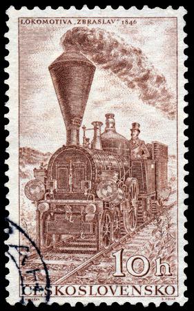 czechoslovakia: CZECHOSLOVAKIA - CIRCA 1956: Stamp printed in Czechoslovakia shows the Editorial
