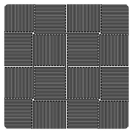 Abstract seamless geometric pattern design  イラスト・ベクター素材