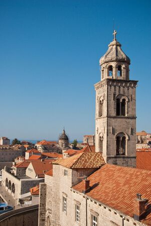 dubrovnik: Dubrovnik Skyline Stock Photo