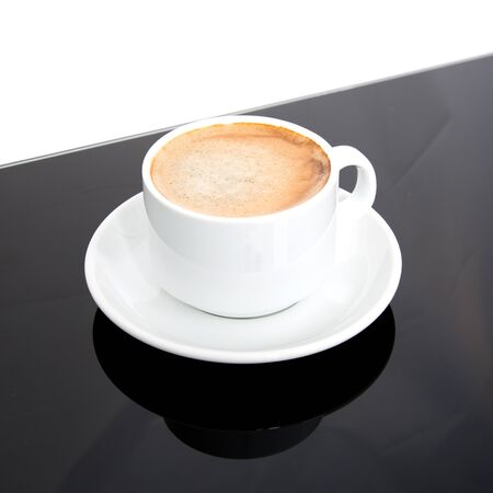 Coffee Cup filled with coffee Stock fotó