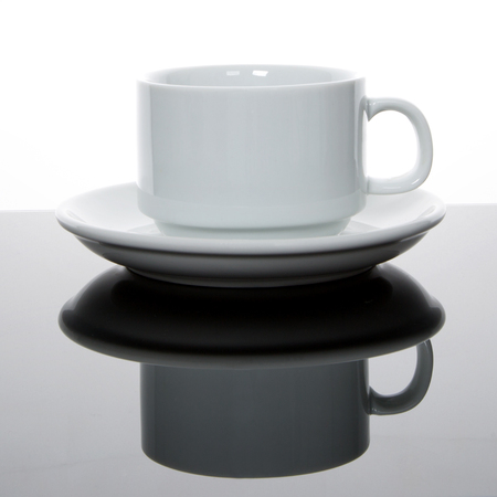 Coffee Cup on dark background