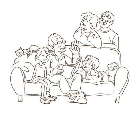 Короно-вирусная (covid 19) кампания, чтобы остаться дома. образ жизни, что вы можете делать дома, чтобы оставаться здоровым. Плоский дизайн вектор