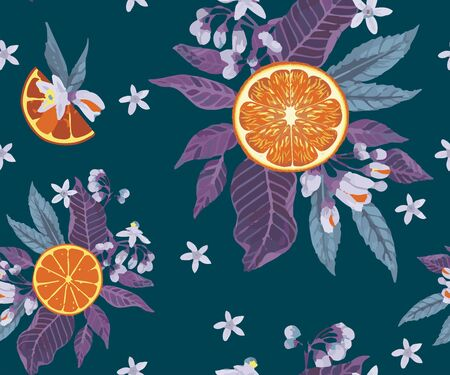 Seamless pattern with sketch of handmade perfumery and cosmetics ingredients. Vintage background with aromatic plants for the aromatic industry. Herbs and Spices Illustrations Herbal Ingredients
