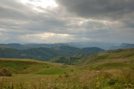 Caucasus Russia, landscape, on the road to Mount Elbrus Stock Photo - 18438024