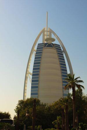 Burj Al Arab is a luxury 5-star hotel located in Dubai, United Arab Emirates