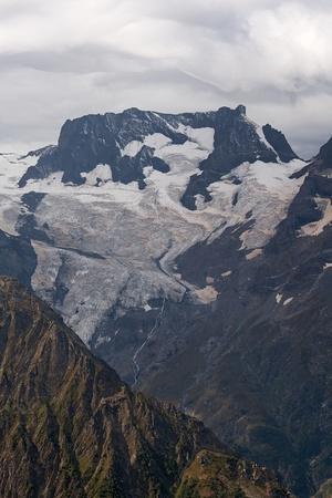 dombai: Dombai Russian Caucasus mountain summer